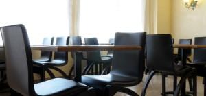 Mesas de cafetería